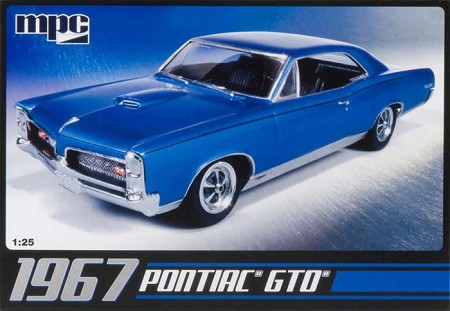 1967 Pontiac GTO (1/25 Scale) Model from MPC #710