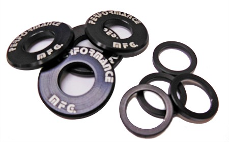 "Front Wheel Hub Bearing Shield Set (5/8"" or 3/4"" ID)"