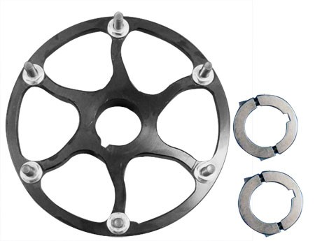 "Floating Sprocket Hub with Lock Collars (1-1/4"")"