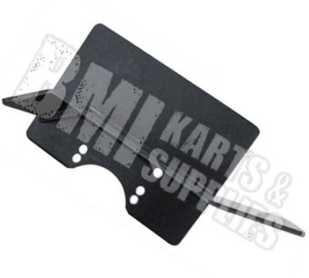 Aluminum Chain Guard with Heat Shield for Briggs Raptor / Flathead