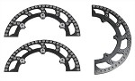 "8-1/2"" Ultralite Aluminum Sprocket Guards"