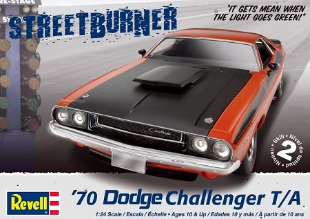 '70 Dodge Challenger (1/24 Scale) 2 'n 1 from Revell Models #852596