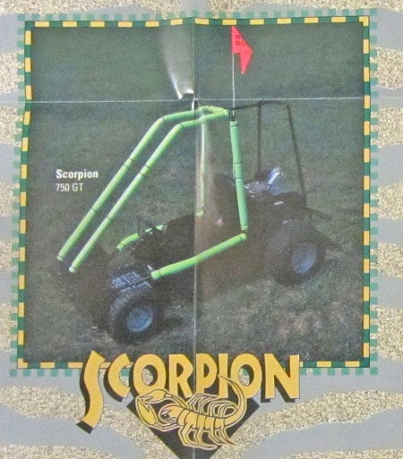 Road Boss Scorpion Go Kart - DISCONTINUED