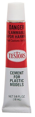 Testors Plastic Cement Tube (5/8 oz) #3501