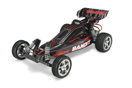 Bandit 1/10 Extreme Sports Buggy Black, RTR W/ iD Battery & 4 Amp Peak DC Charger