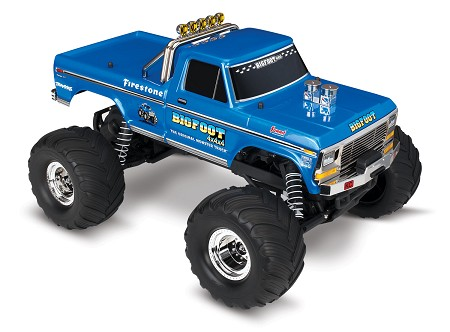 BIGFOOT No. 1, 1/10 Scale 2WD Monster Truck, Waterproof, RTR - Brushed