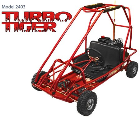 carter model turbo tiger 2403 go kart discontinued. Black Bedroom Furniture Sets. Home Design Ideas