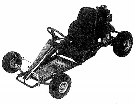Manco Intruder RT 211cc Go Kart