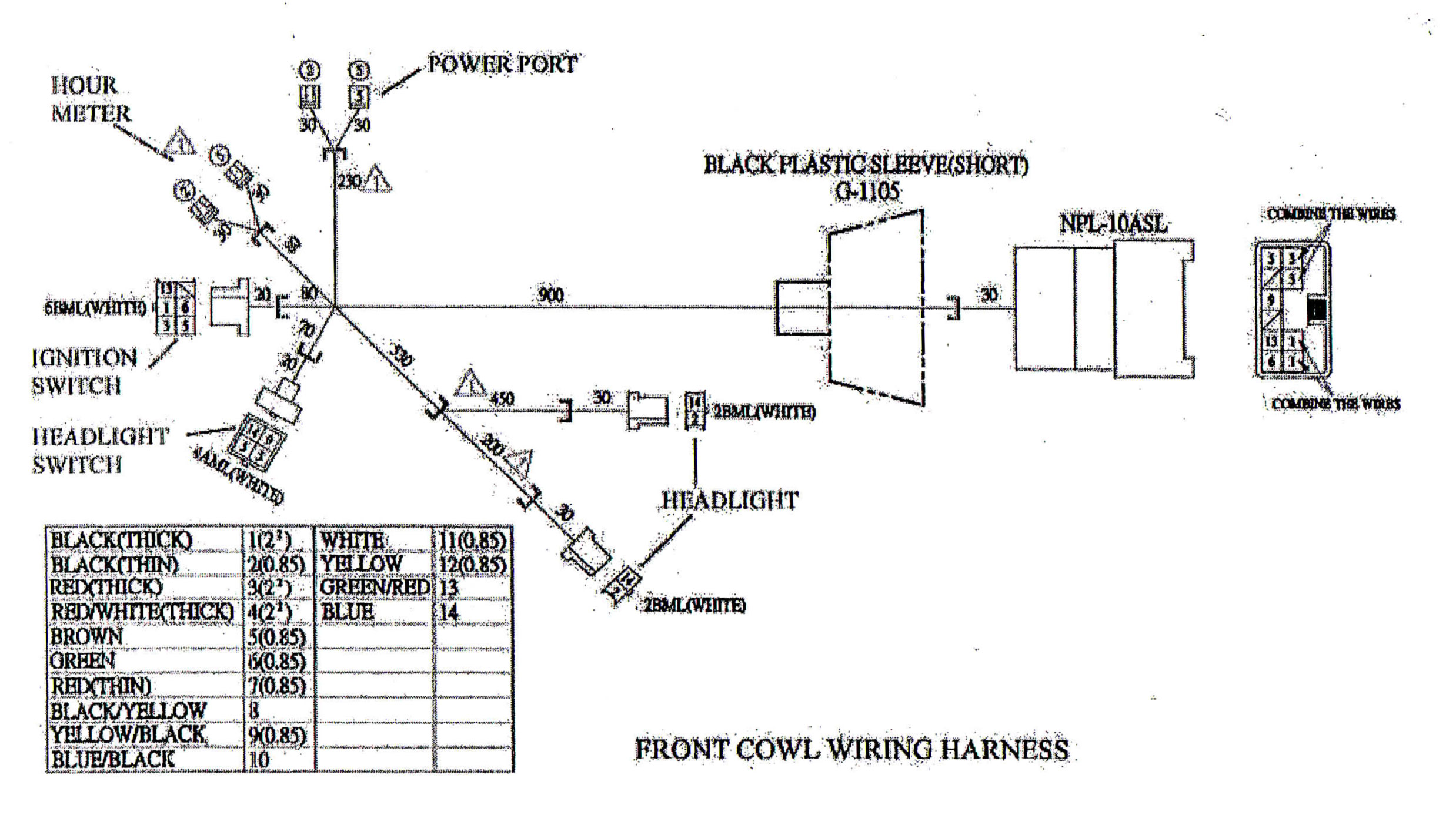 Yerf Dog Scout Wiring Diagram - Wiring Diagrams Load Hammerhead Cc Wiring Harness on