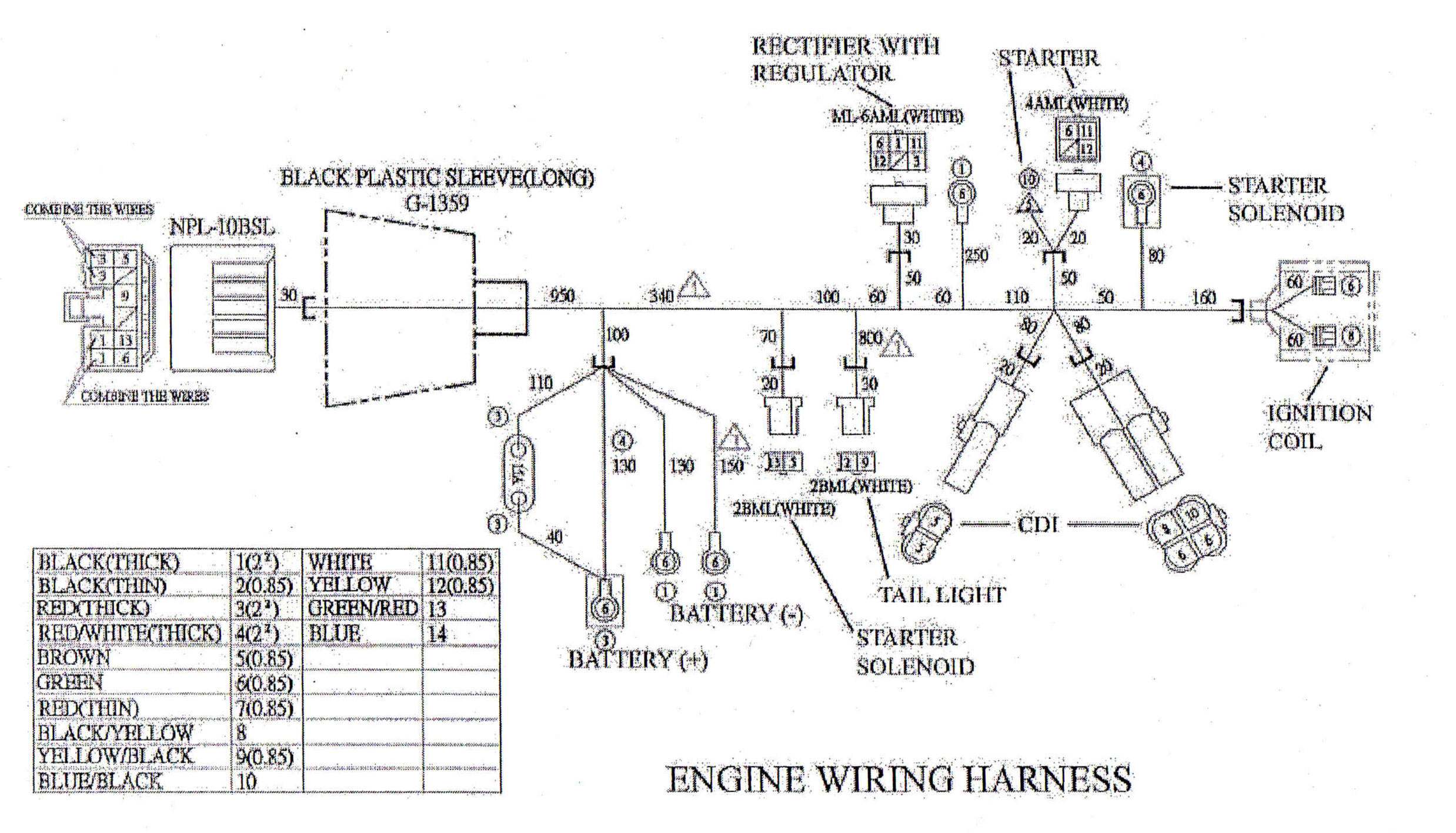 Go Kart Wiring Harness - Wiring Diagram M10 Hammerhead Go Kart Wiring Harness on