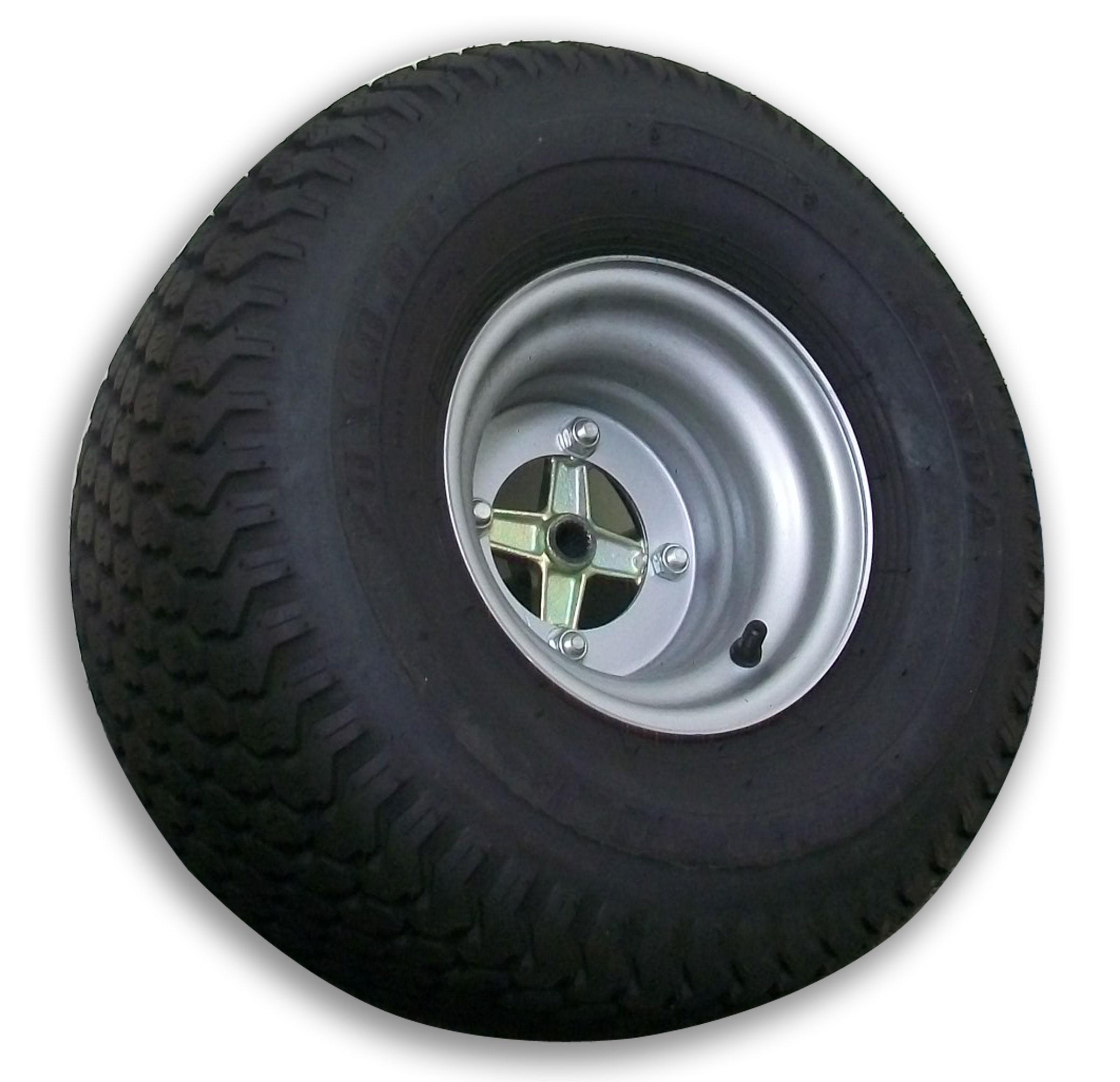 20 X 10 00 8 Superturf Tire With Rim Wheel Hub Metric Used