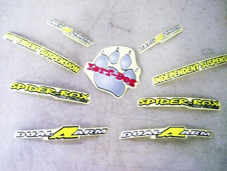 on Yerf Dog Spiderbox Go Kart Parts