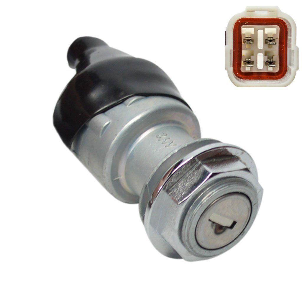 4-Wire Ignition Key Switch for ATV's / UTV's - Version 52