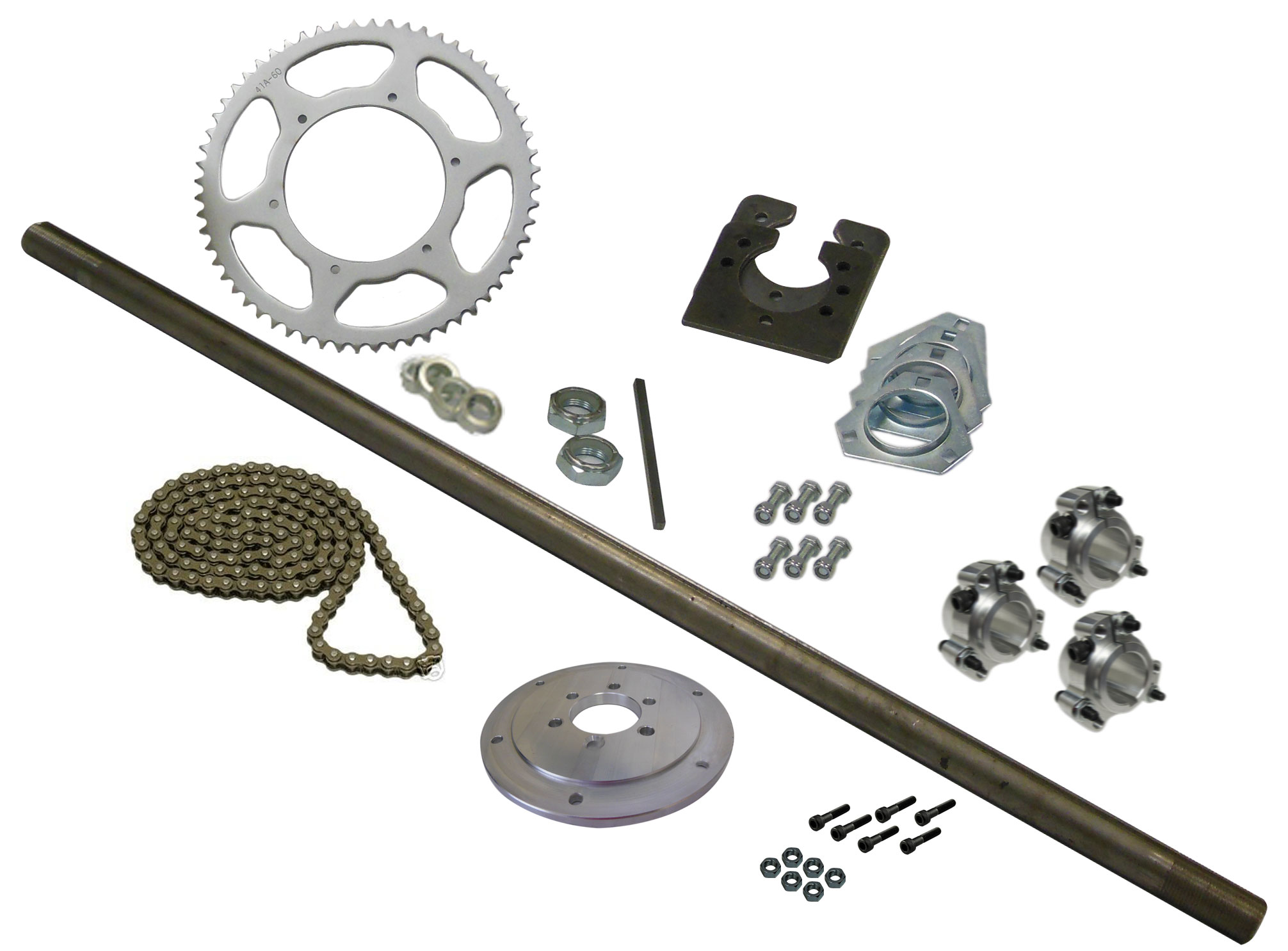 Drift Trike Axle Kit (#40 Chain) | 333018 | BMI Karts And Parts