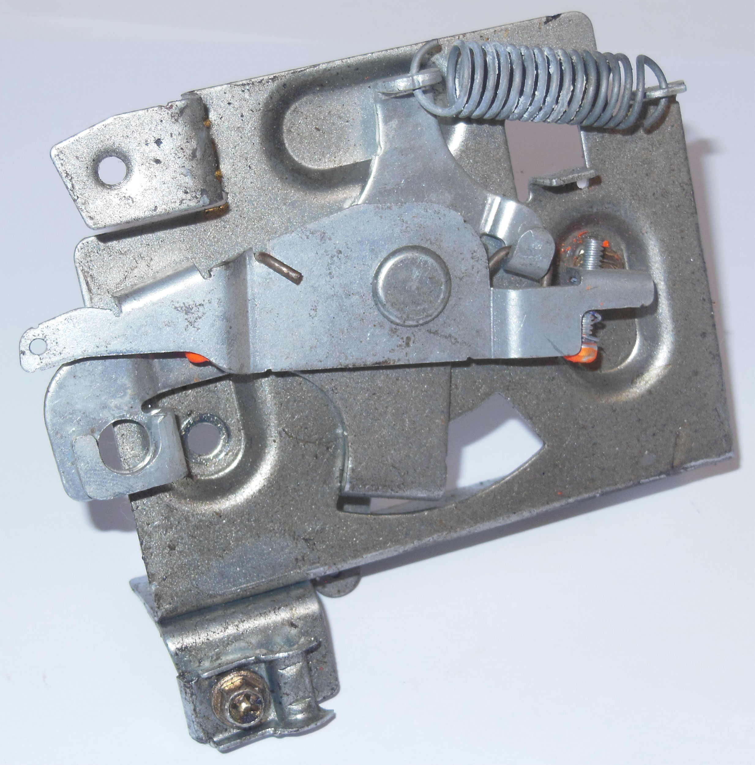 Tecumseh Throttle Assembly Bracket - Used | 36740AU | 36740A | BMI Karts  And Parts