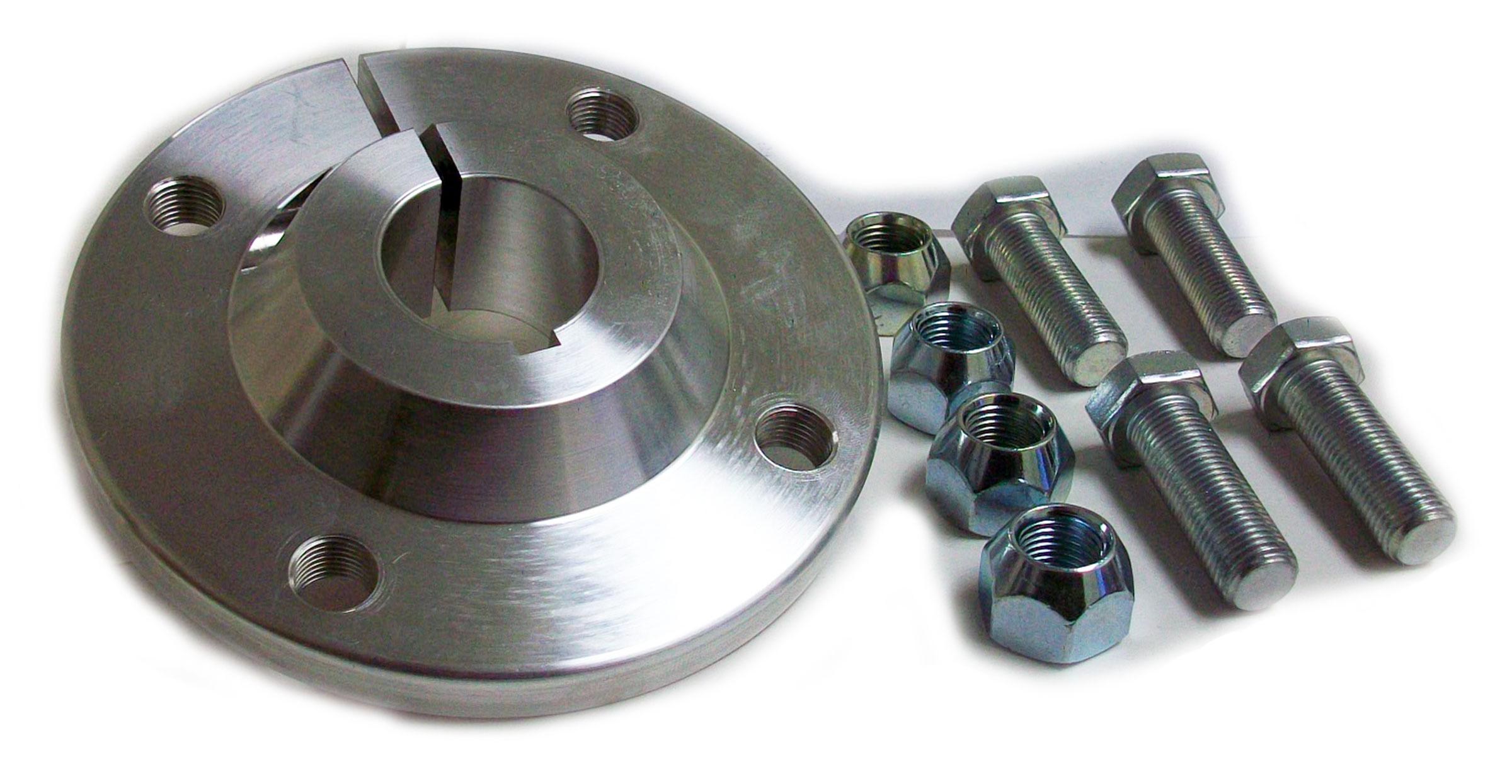 4 x 4 Billet Aluminum Wheel Hub (1-1/4