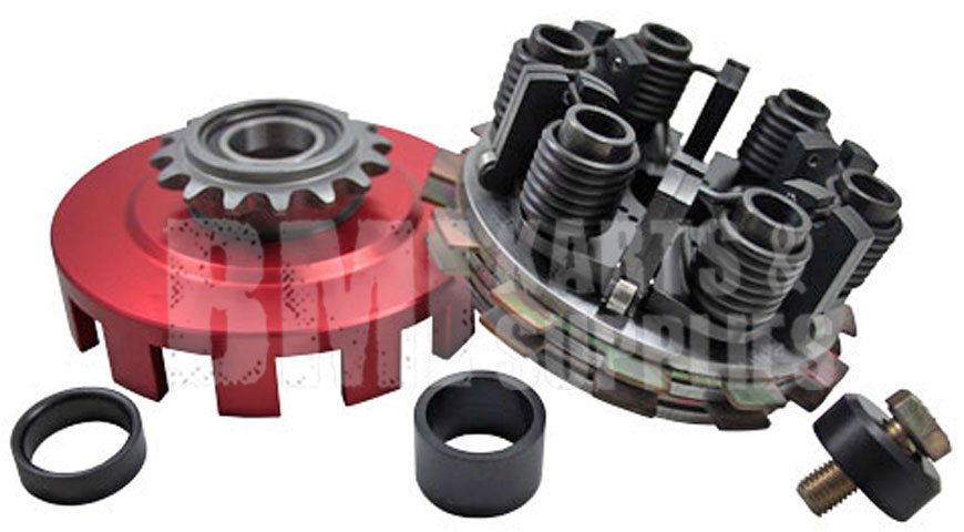"Vortex ""Red"" Racing Clutch from SMC (Two Disc)"