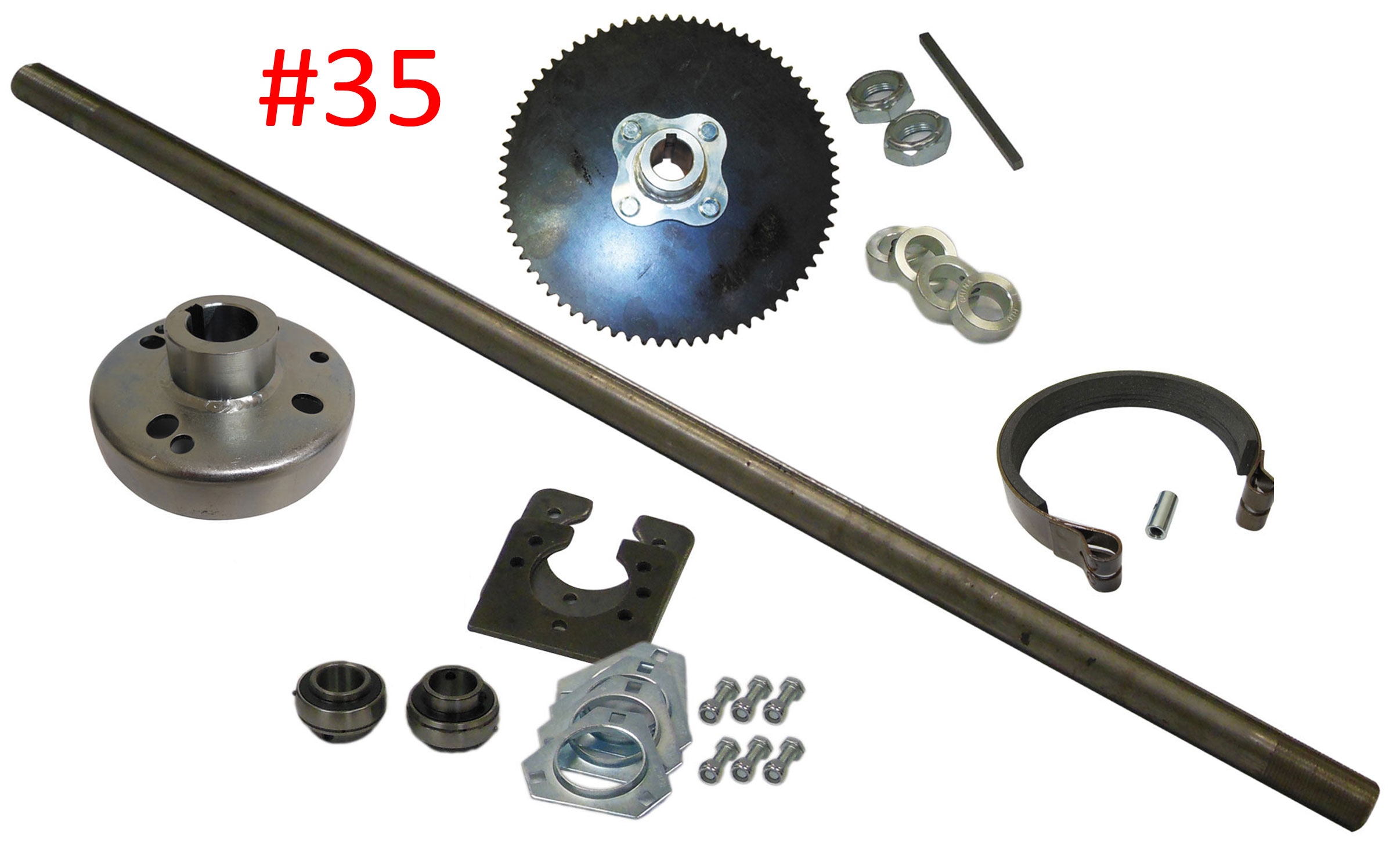 1 Live Go Kart Axle Kit  p 7484 likewise plete Front End For Yerf Dog Designed For 58 Bolt p 1745 likewise 24v Thumb Throttle Golden Motor as well 196cc 6 5 Hp Honda Clone Gx200 168f Go Kart Mini Bike Engine furthermore Controller Harness Pride Victory3 4. on yerf dog go cart parts