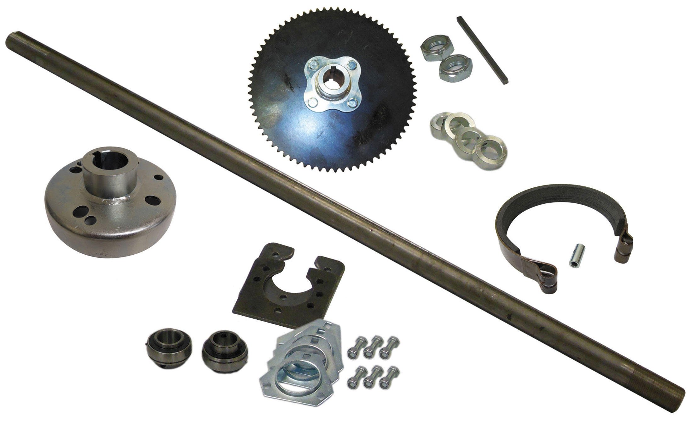 1 Live Go Kart Axle Kit 566235 Or 566105 Bmi Karts And Parts Rear Swingarm Diagram List For Manco Gokartminibikeparts Quick View