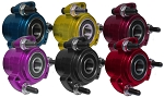 Colored Aluminum Racing Wheel Hub (Front with 5/8