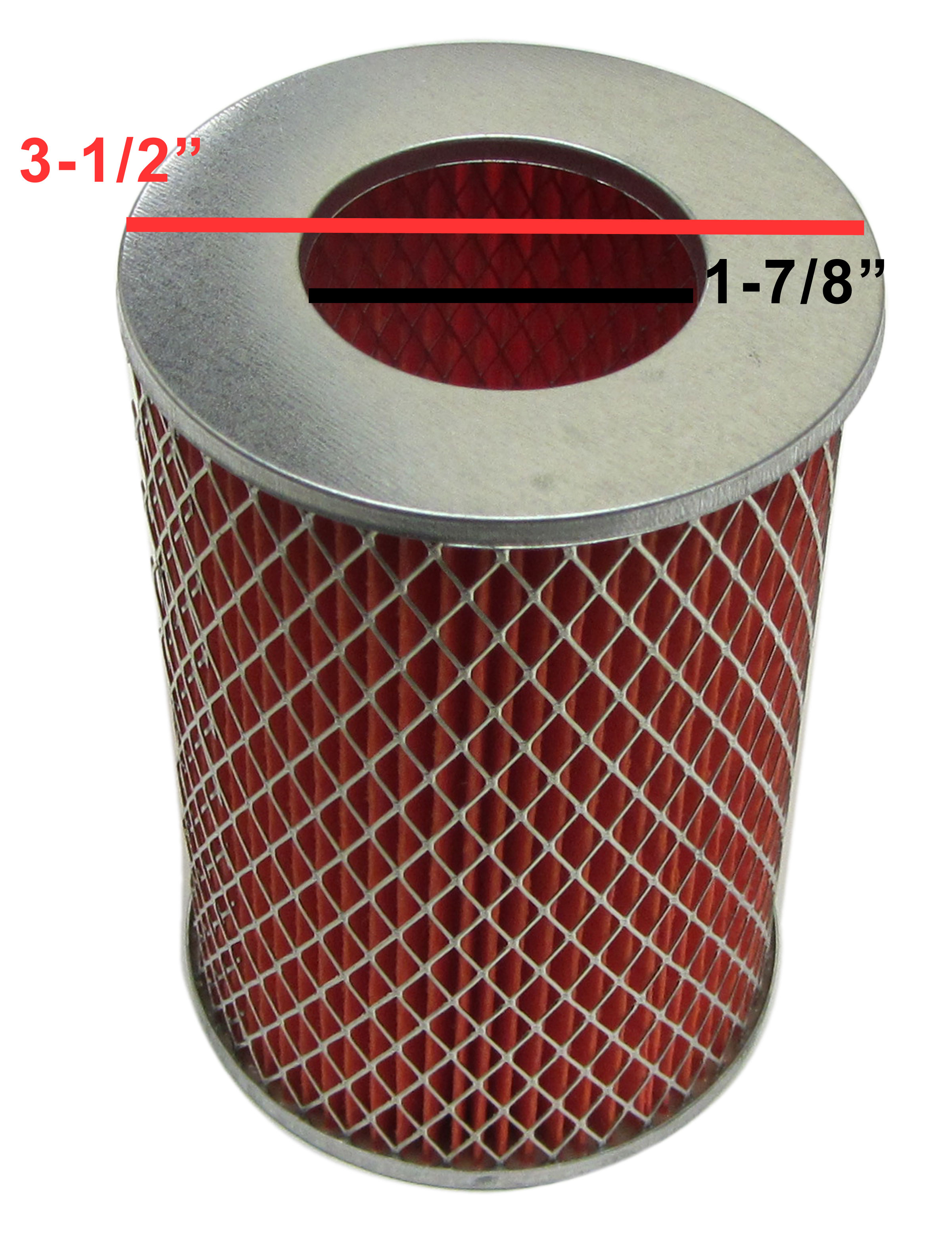 Air Filter Element for the 150cc Go Kart GY6 Engine | 600809 | BMI Karts  And Parts