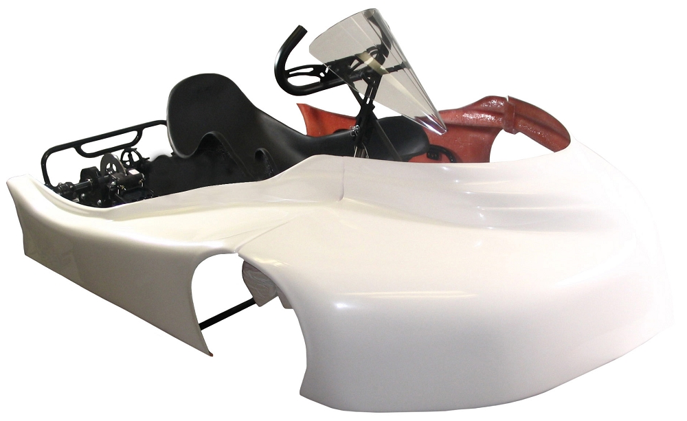 2016 Ultramax XCeed Racing Chassis | 634095 | BMI Karts And Parts