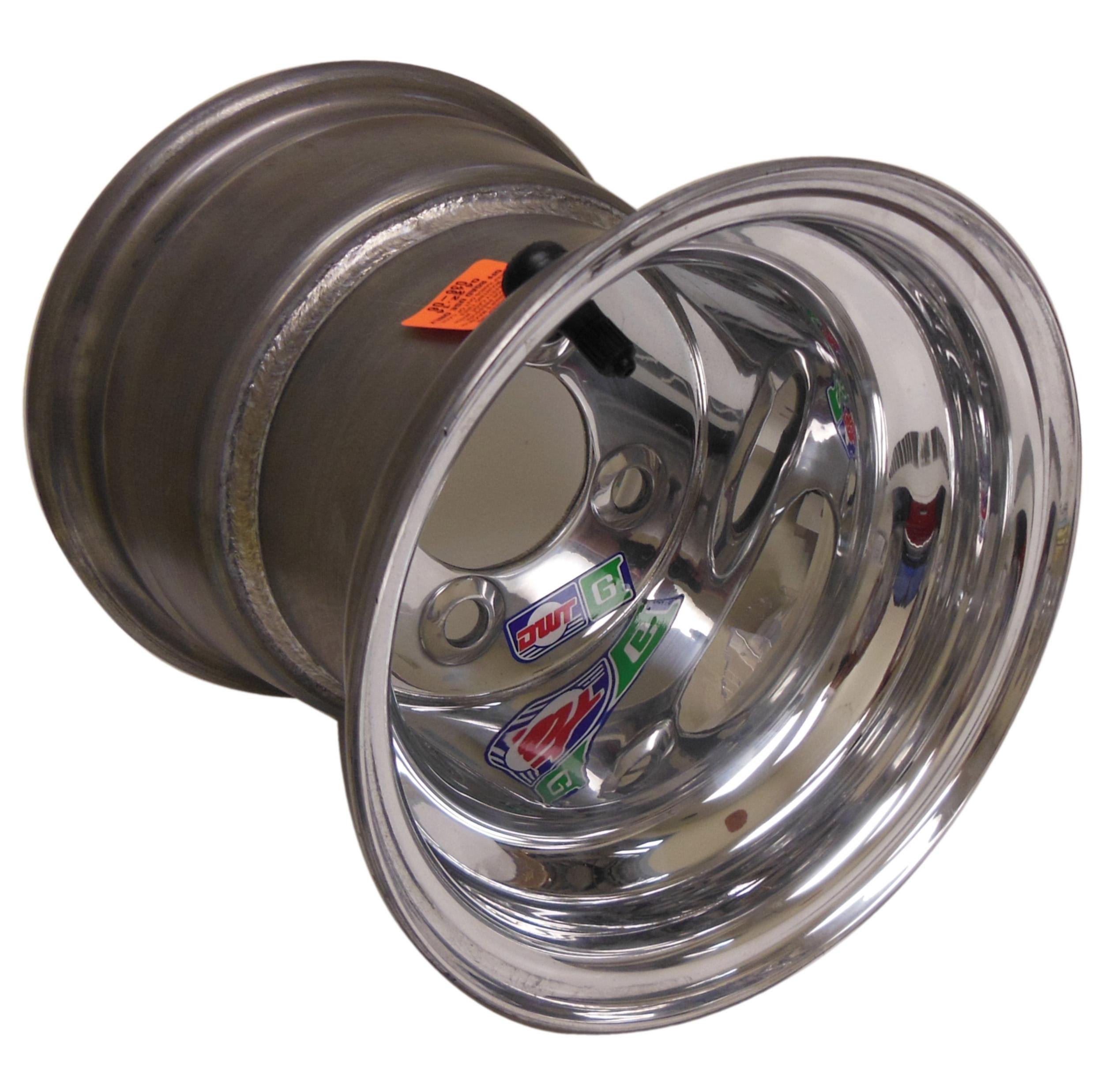 8 x 8 Douglas Alumilite Polished .125 Golf Cart Wheel | 671009 | Douglas Golf Cart Tire Width on golf cart tire tread, golf cart tire pressure, golf cart tire sizes, golf cart tire outlet,