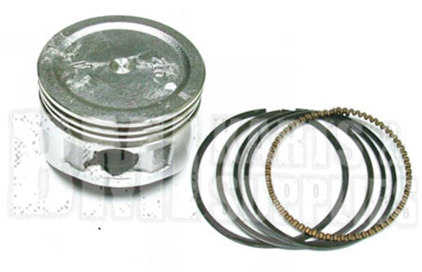 Stock Piston & Ring Set for Honda GX160 & GX200 / 5 5-6 5HP Clone Engine |  711284_711290 | BMI Karts And Parts
