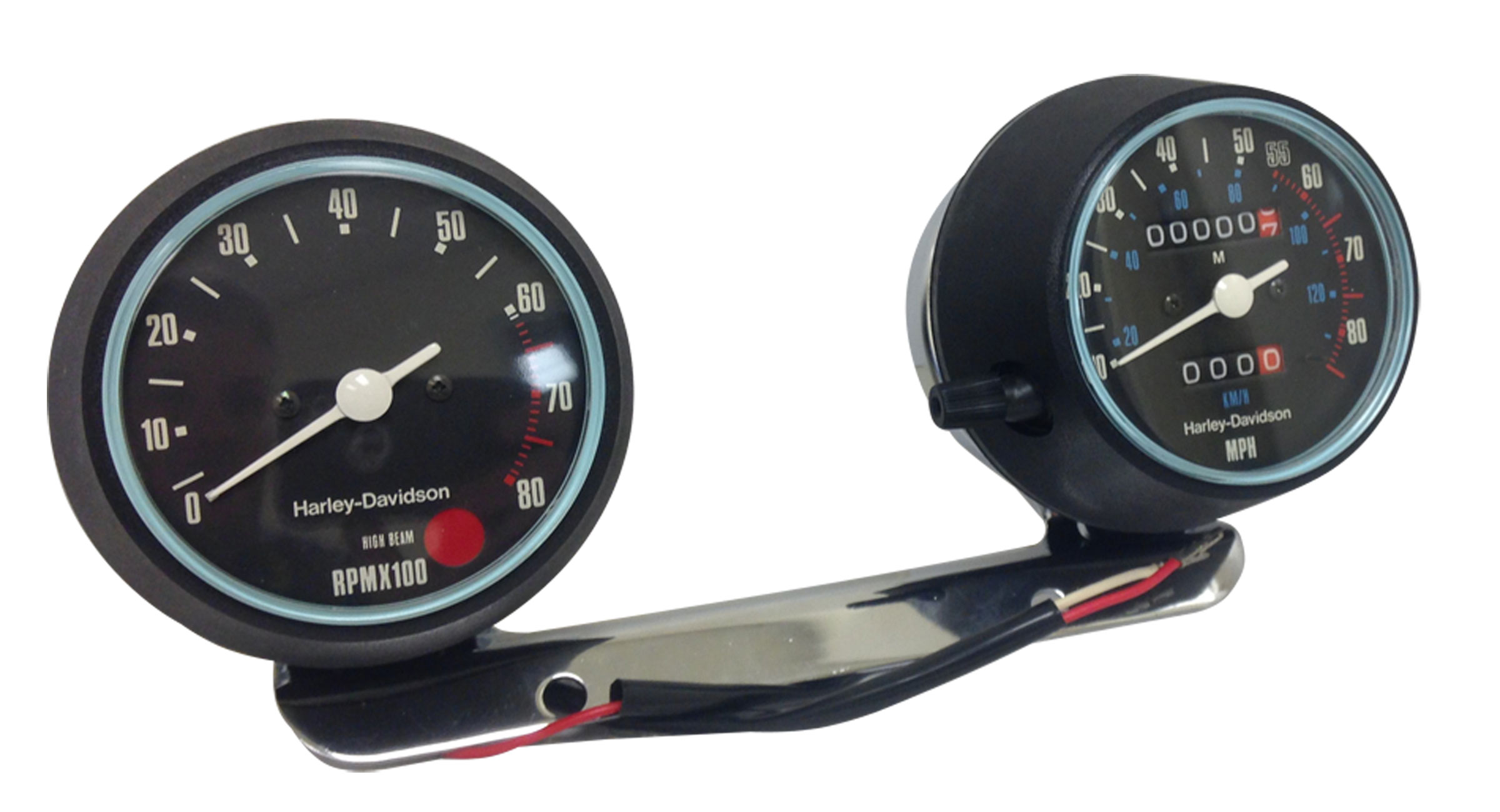 genuine harley davidson tachometer and speedometer for