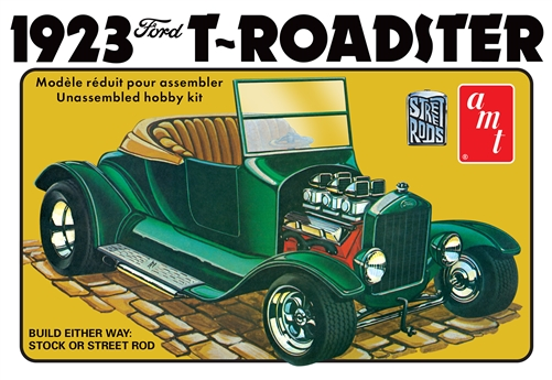 Amt 1923 Ford Model T Roadster Street Rod Series Model Kit Amt1130 Bmi Karts And Parts