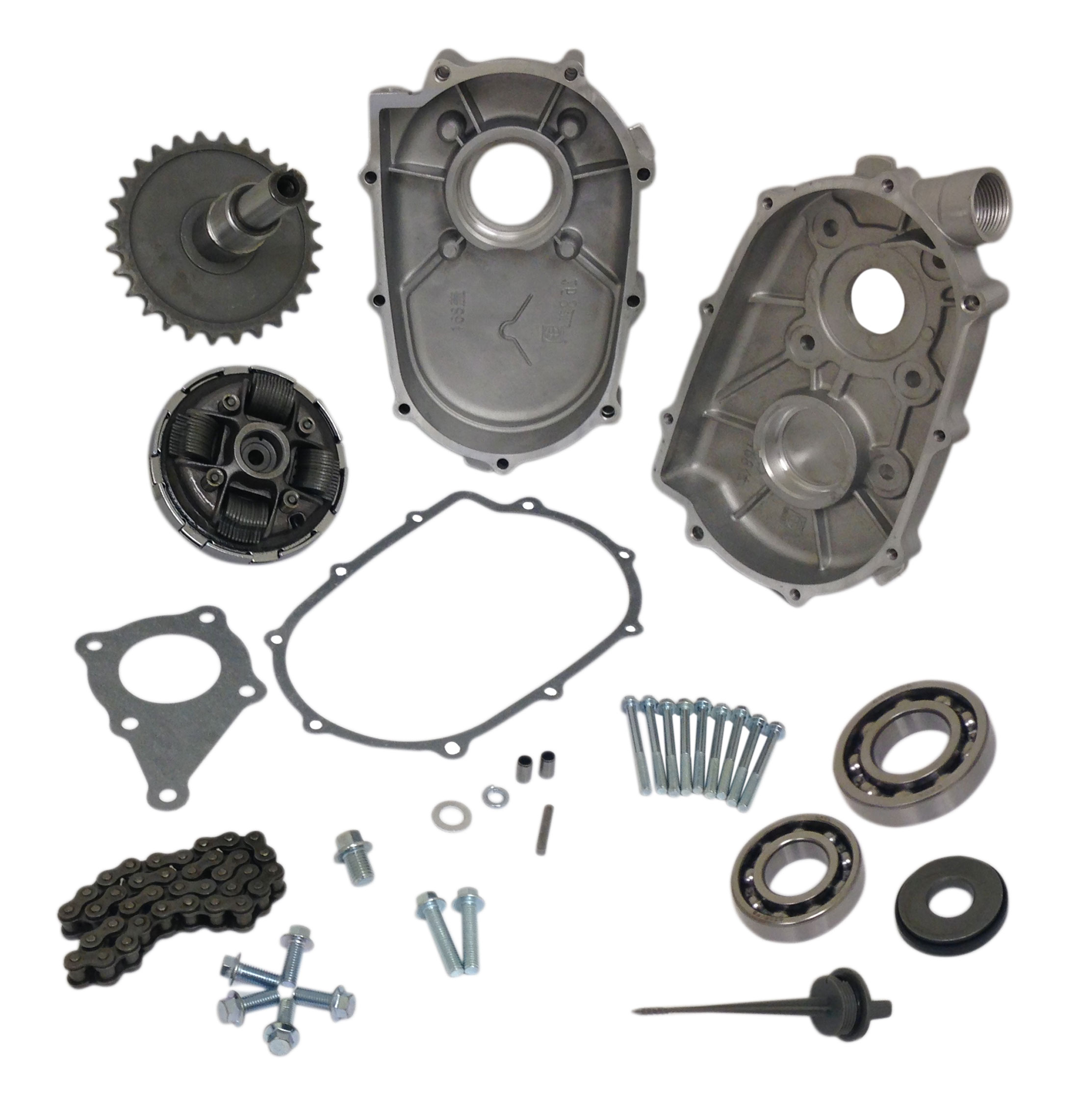 2:1 Reduction Gearbox Kit for Honda 6.5HP GX200 Engine (20mm ...