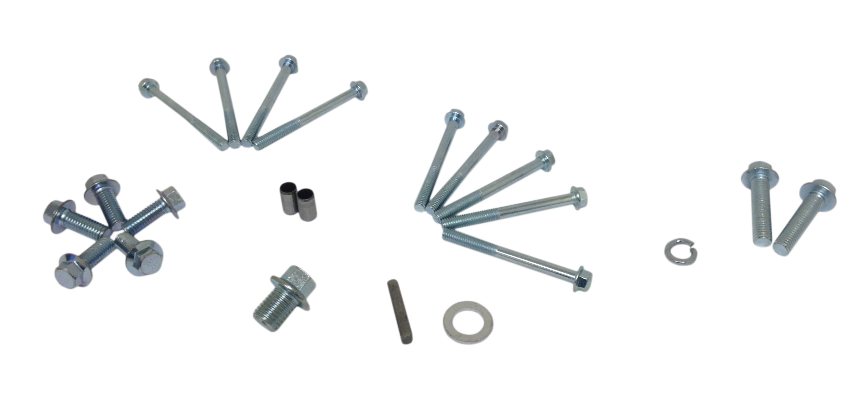 Screw and Key Kit for 2:1 Reduction Gearbox for Honda 6 5HP GX200 Engine |  AT1211-HD200-00 | BMI Karts And Parts