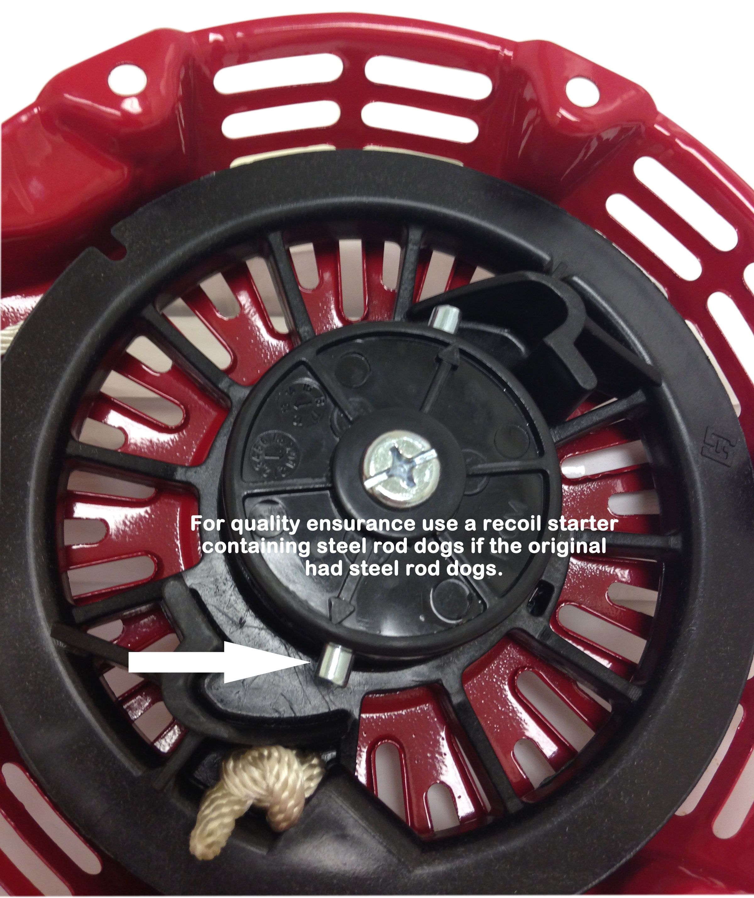 3 x Honda GX160 5.5 hp Recoil Assembly FITS 5.5HP Engine  Steel Rachet