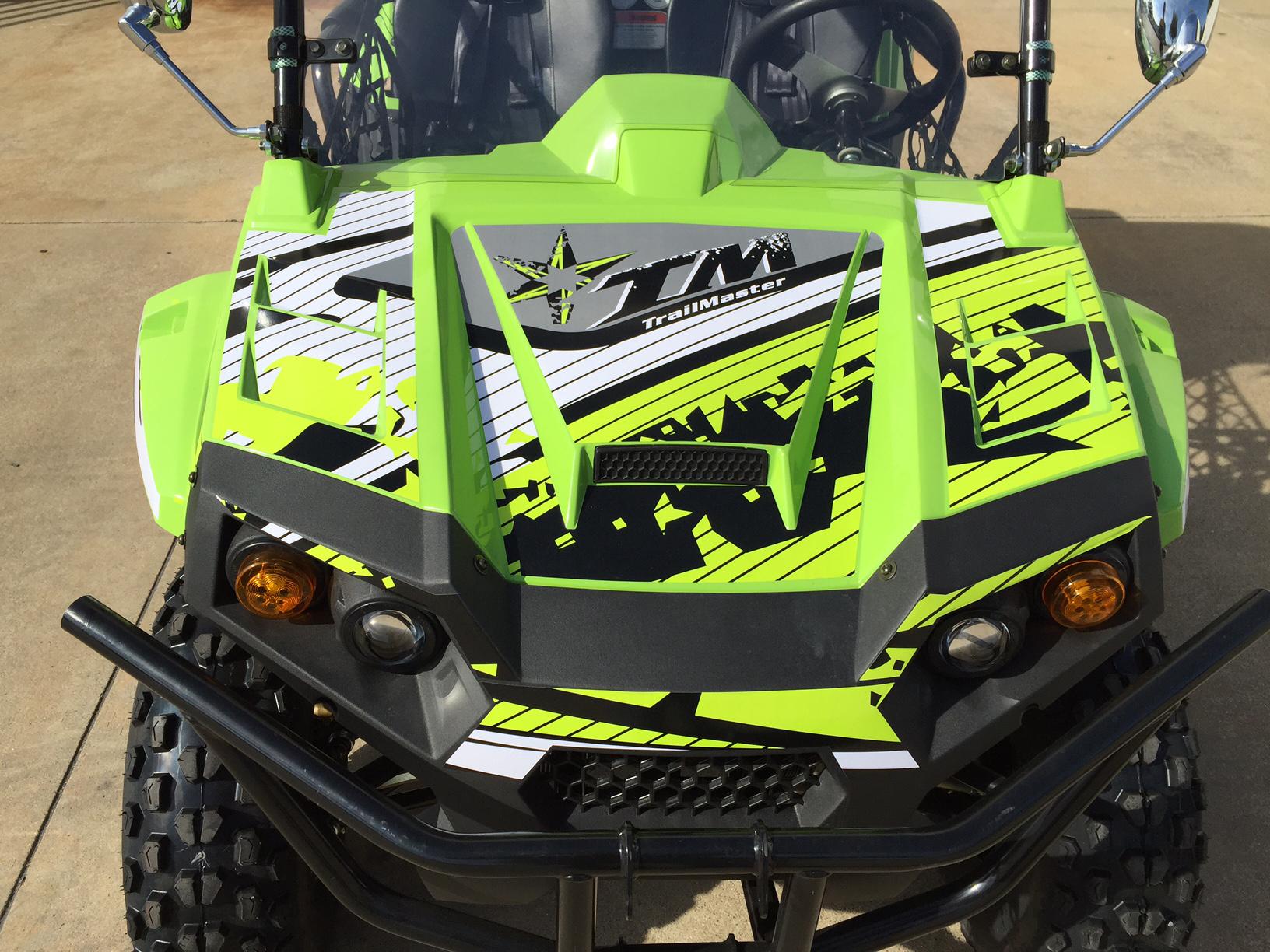 Decal Kit for Trailmaster 150 Challenger UTV