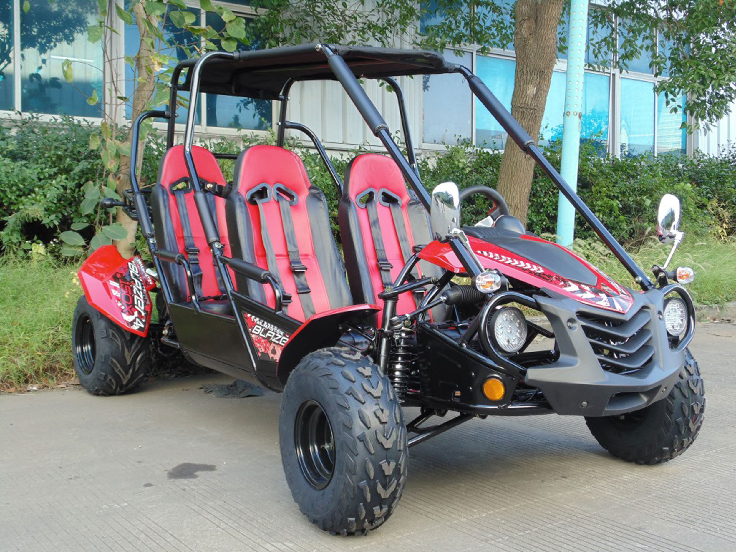 Trailmaster Blazer4 150 X (4-Seat Go Kart)