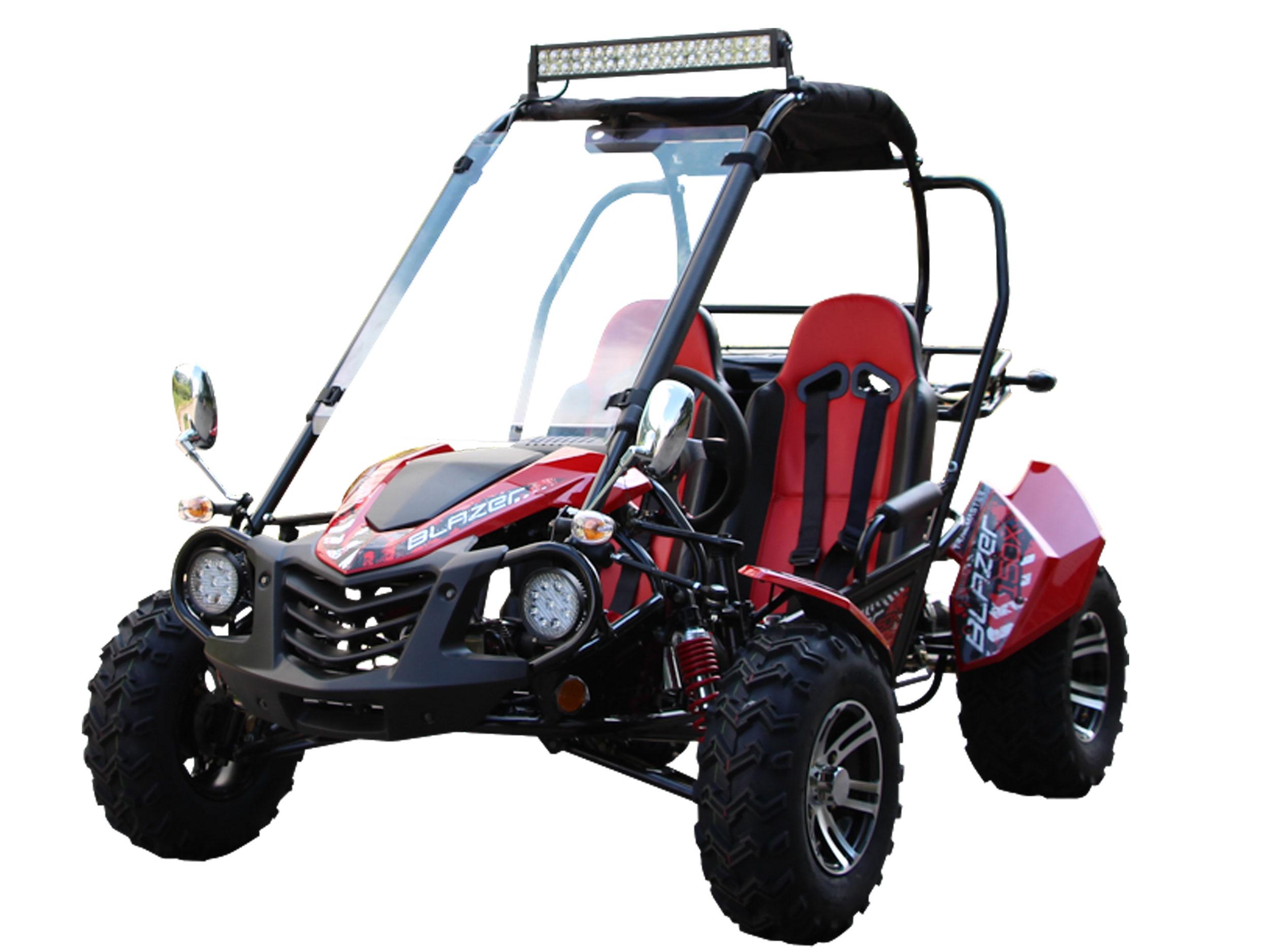 Trailmaster Blazer 150 X (Two Seat Go Kart) | Blazer150X | BMI Karts ...