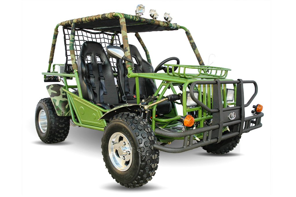 Kandi Safari Jeep 200cc Fully Automatic Go Kart