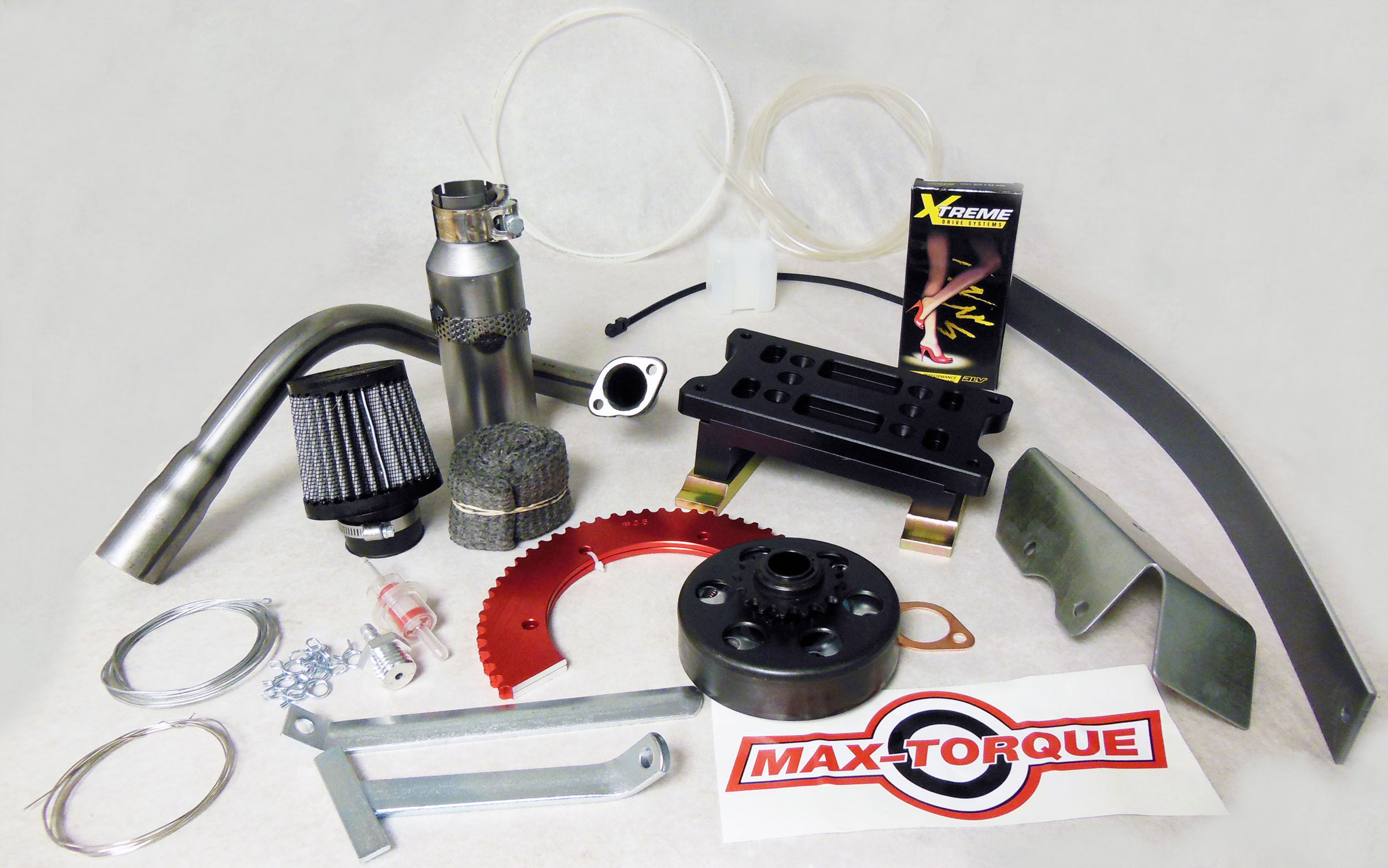 Briggs Animal LO206 Performance Parts Kit with Max-Torque Clutch |  RLV-LO206-MAX | BMI Karts And Parts
