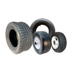 Go Kart Tires, Tubes, Hubs And Assembly