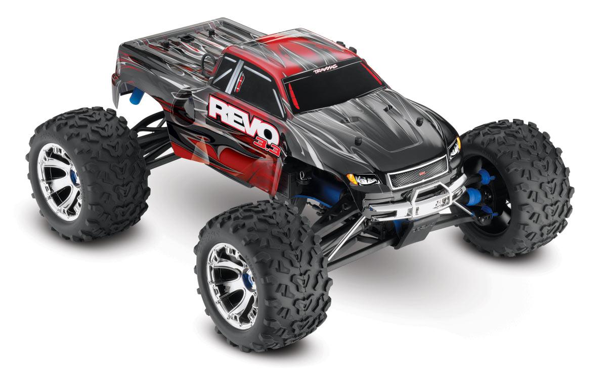 Traxxas REVO 3 3, 1/10 Scale, 4WD Monster Truck w/ TSM - RTR