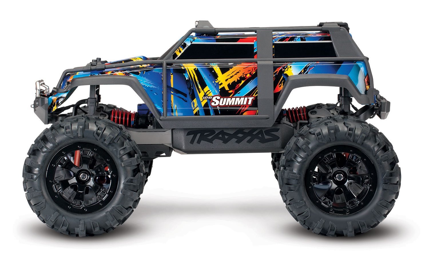 Traxxas Summit 1/16 Scale 4WD Extreme Terrain Monster Truck - RTR