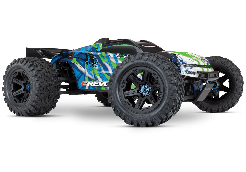 Traxxas E-Revo, 1/10 Scale, 4WD, Brushless Monster Truck w/ TSM - RTR