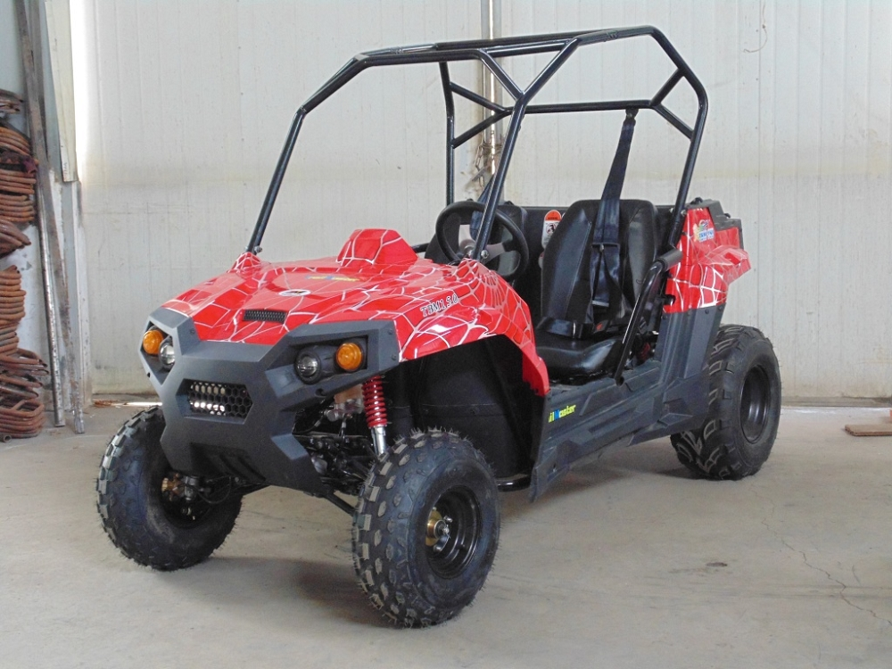 Trailmaster 150cc Challenger Extended Youthadult Utility Vehicle