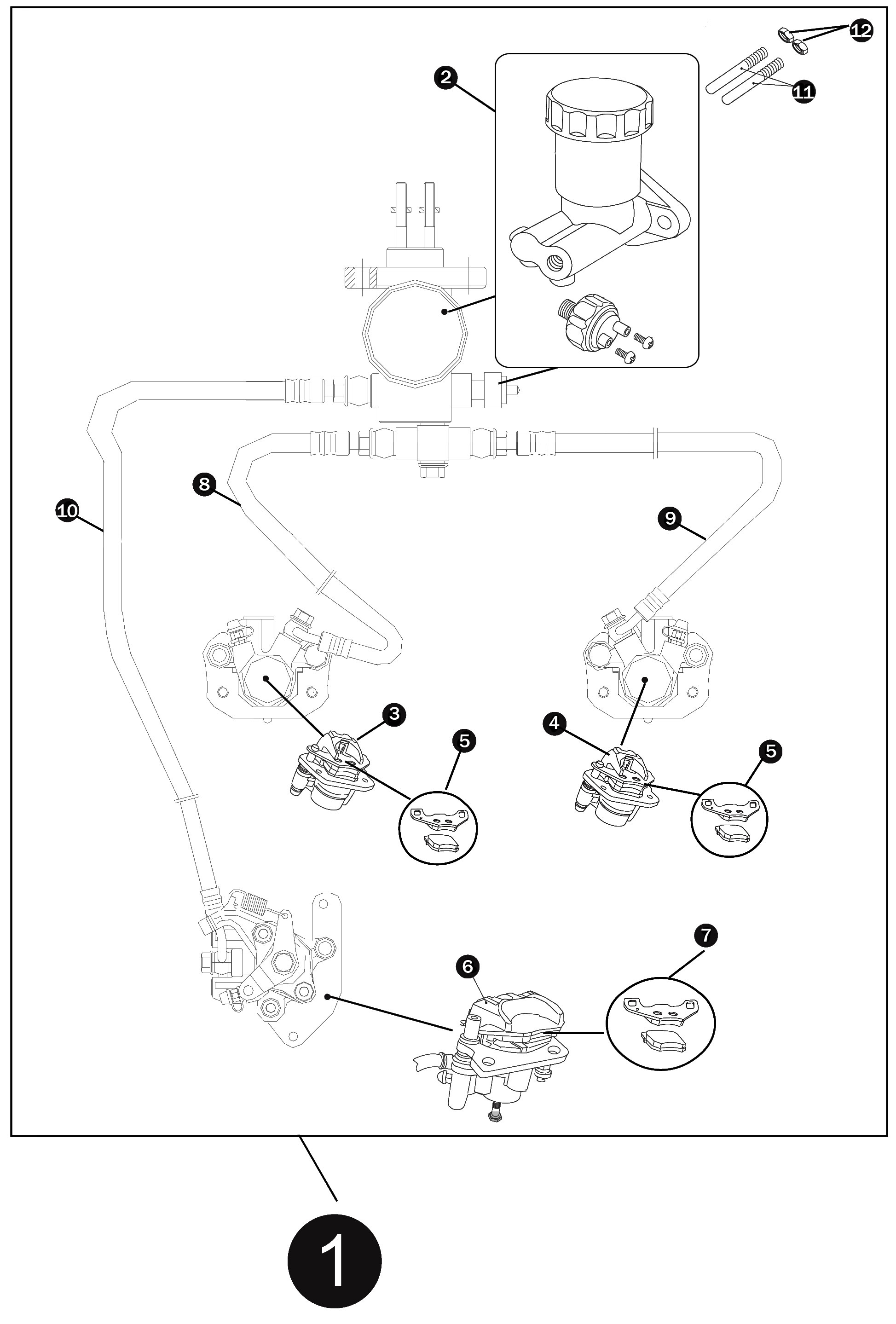 Brake Caliper Parts    Diagram     Reading industrial    wiring    diagrams