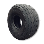 800 x 6 Ribbed Tire Flat Profile