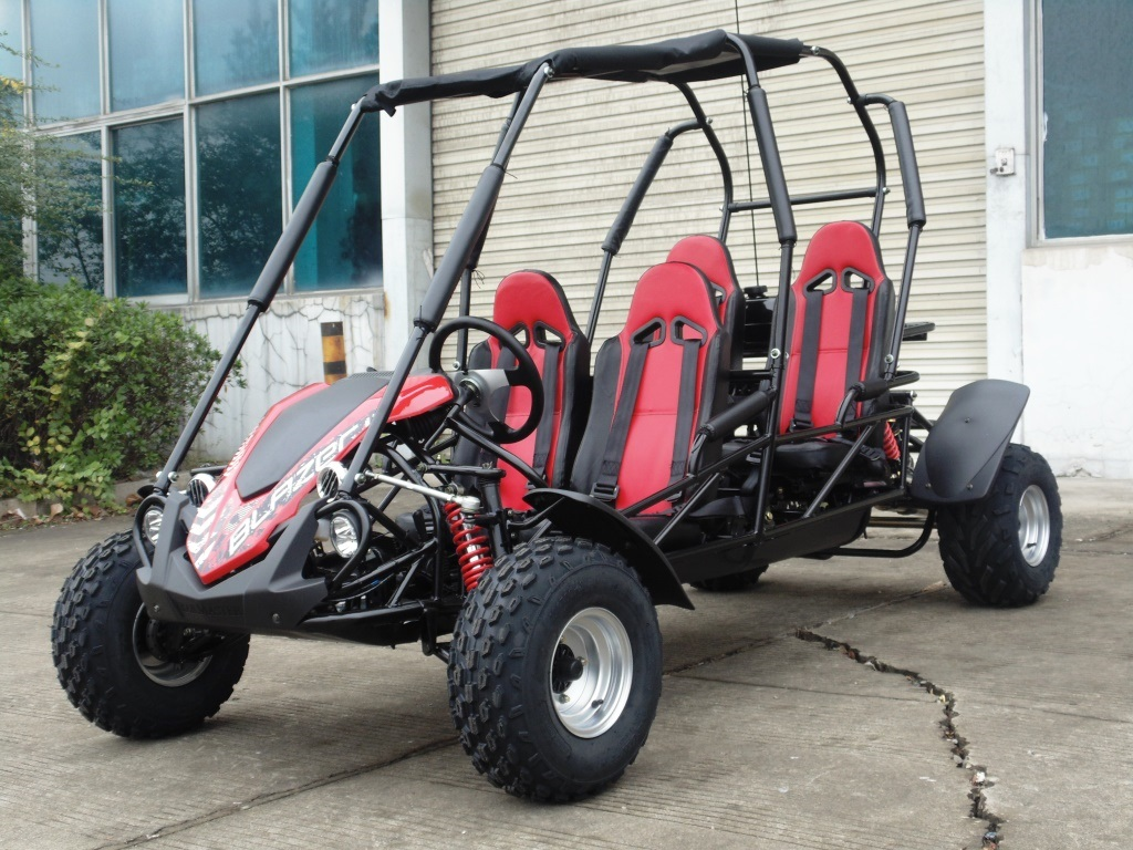 Trailmaster Blazer4 150 (4-Seat Go Kart)   Blazer4   BMI Karts And Parts