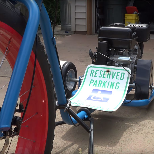 Drift Trike Build with 420cc Predator Engine