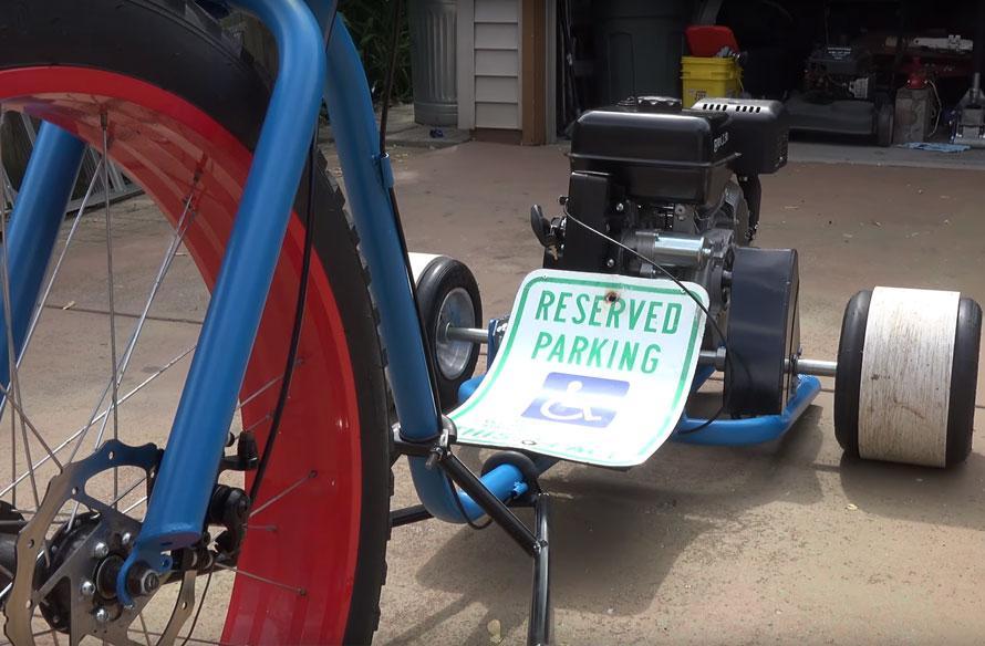 Drift Trike Build with 420cc Predator Engine