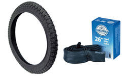 Go Kart Bicycle Tires and Tubes