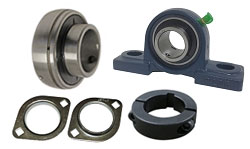 Go Kart Axle Bearings, Hangers, Etc.